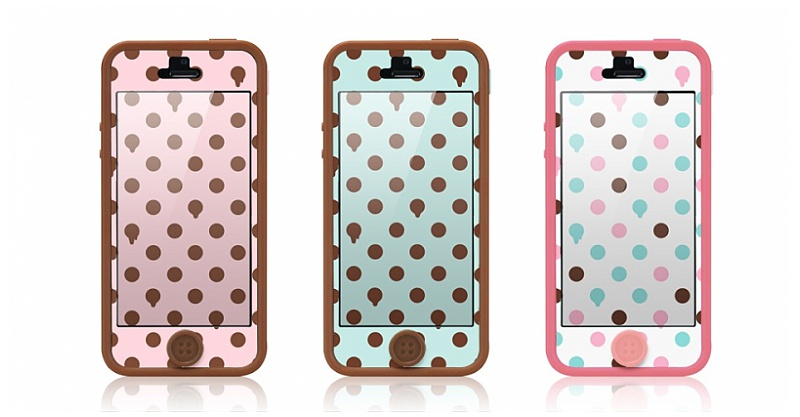 tunewear poptune with frame - iphone 5 case