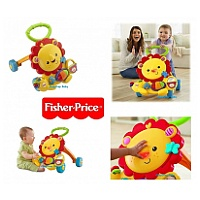 Fisher-Price 獅子玩具學行車Musical Lion Walker
