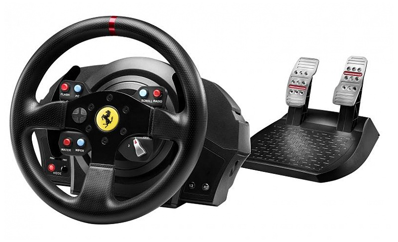 thrustmaster t300 ferrari gte wheel. Black Bedroom Furniture Sets. Home Design Ideas