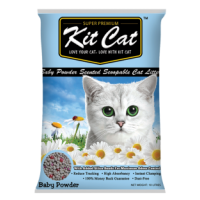 Kit Cat Classic Clump Baby Powder 凝結砂爽身粉香味 10L