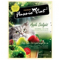 Fussie Cat Apple Delight 凝結砂 蘋果香味 10L