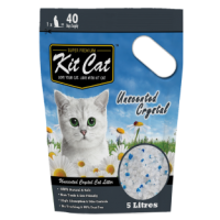 Kit Cat Crystal Cat Litter (Unscented) 水晶砂 無味 5L