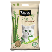 Kit Cat Organic BambooClump (Short Hair) 有機貓砂 (短毛) 11KG