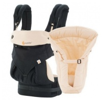 ERGObaby Four Position 360 Collection: Bundle of Joy Black