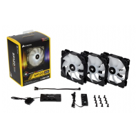 Corsair SP120 RGB LED High Performance 120mm Fan - Three Pack with Controller