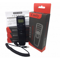 CUELY LCD 多功能定時遙控器/快門線 RS-60E3 + FOCUS RC-6 IR REMOTE(FOR CANON)
