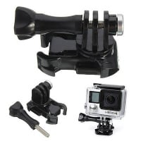 FOCUS 360 Degree Turntable Quick Release Buckle Mount Adapter For GoPro Hero 3 4 Xiaom