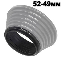 FOCUS 52mm-49mm 52-49 step down ring filter adapter