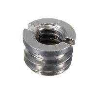 FOCUS Metal 1/4 Inch Female to 3/8 Inch Male Converter Screw Adapter
