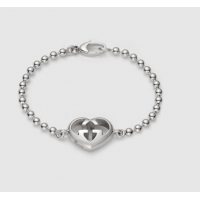 Gucci Bracelet with heart charm 246575 J8400 8106