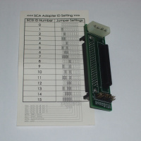 SCSI to SCA 80 adapter