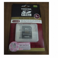 TOSHIBA SDHC card 8GB