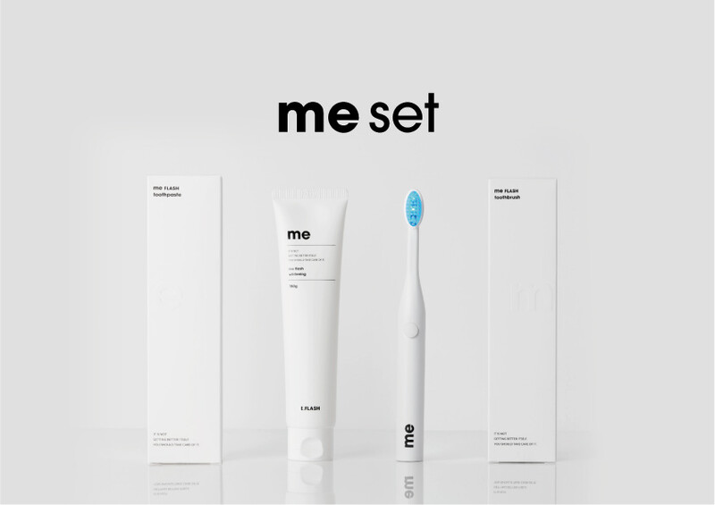 Me Flash Toothbrush Set Product Shot