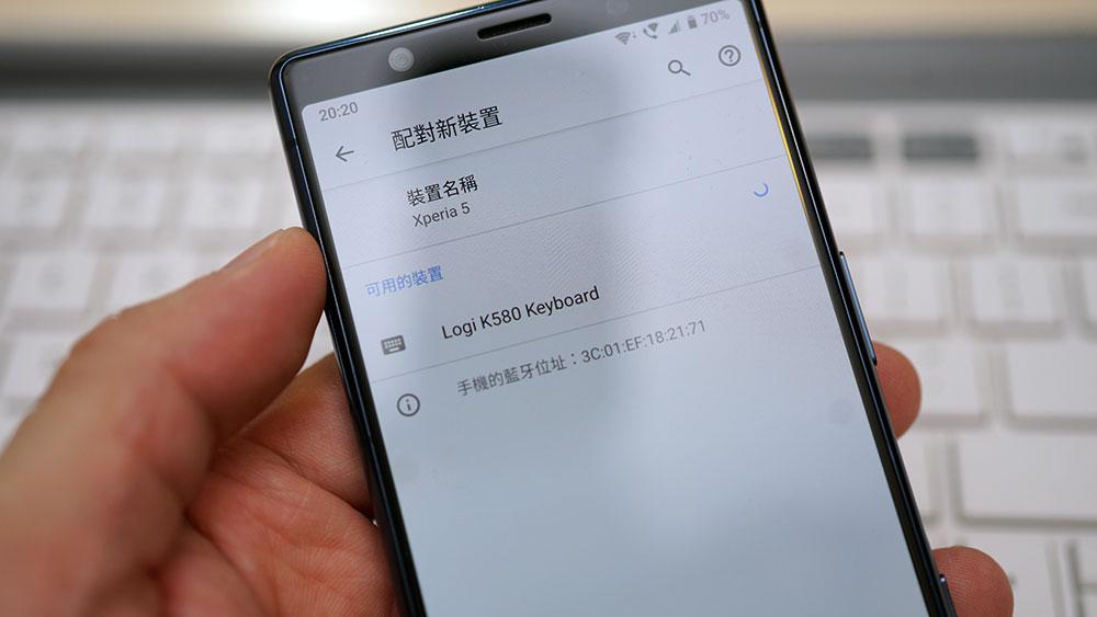 Logitech K580 纖薄雙藍牙無線鍵盤