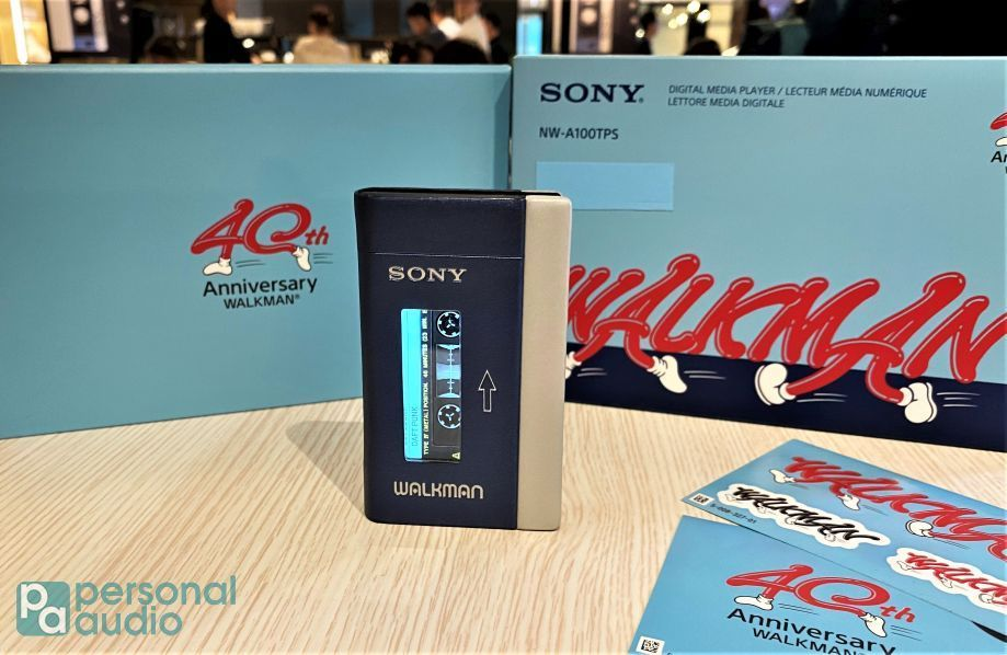 SONY NW-A100TPS