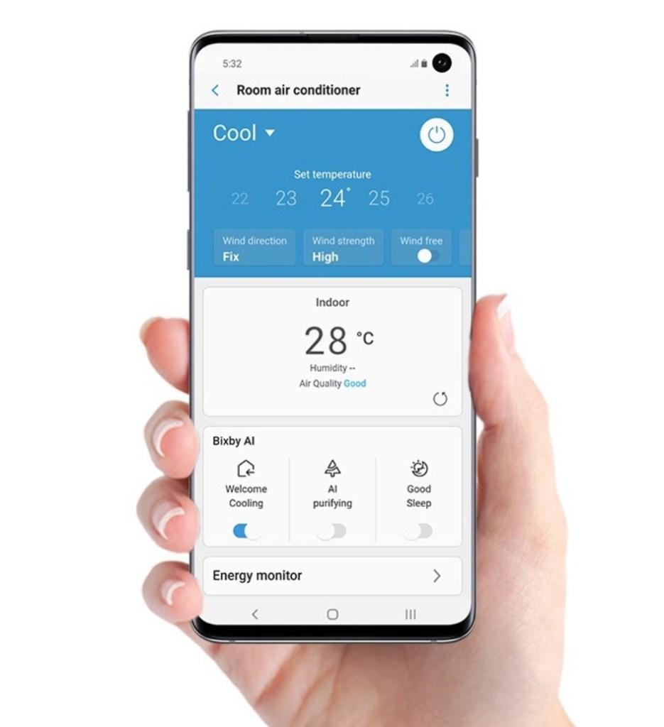 Samsung Wind-Free 分體式冷氣機