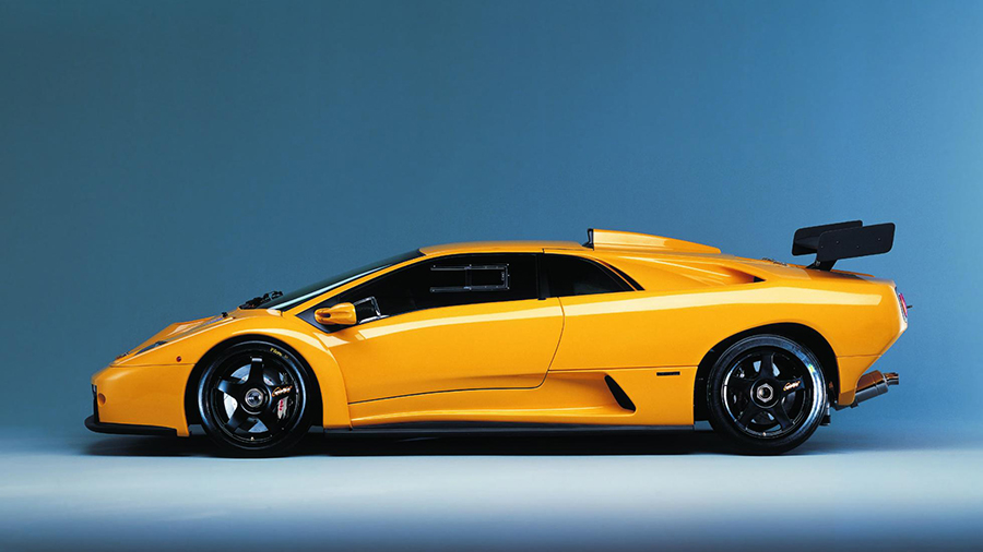 Lamborghini Diablo SV-R & GTR