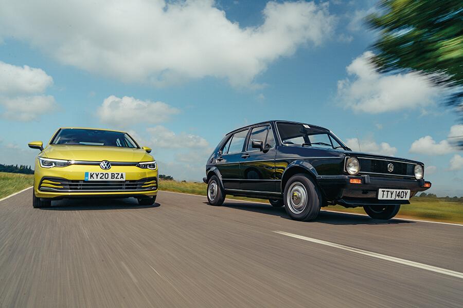 VW GOLF MKVIII vs VW GOLF MKI