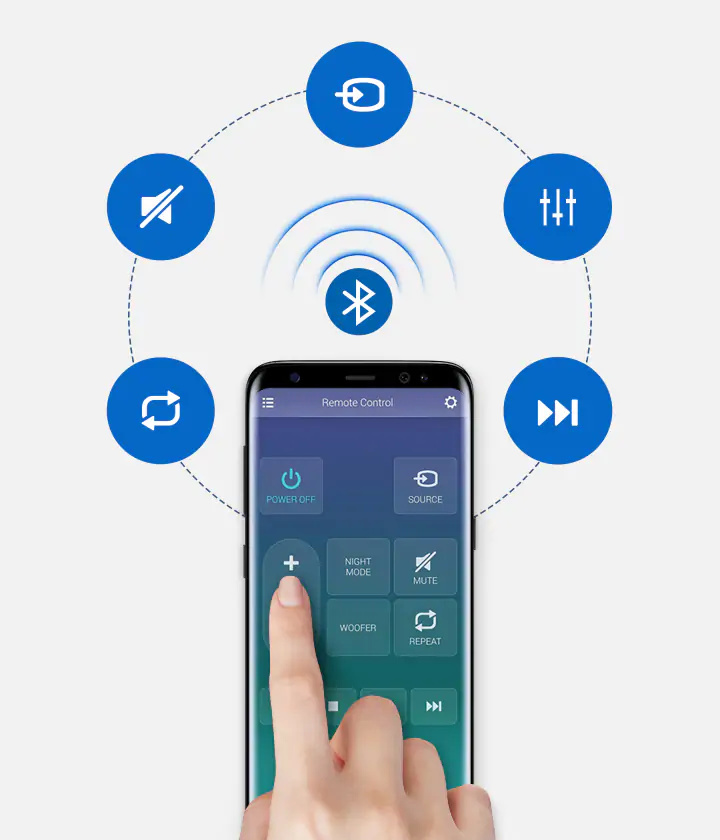 Samsung Audio Remote應用程式