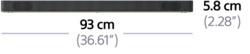 配備藍牙技術的 2.1 聲道 Dolby Atmos® / DTS:X™ Soundbar | HT-X9000F 的相片