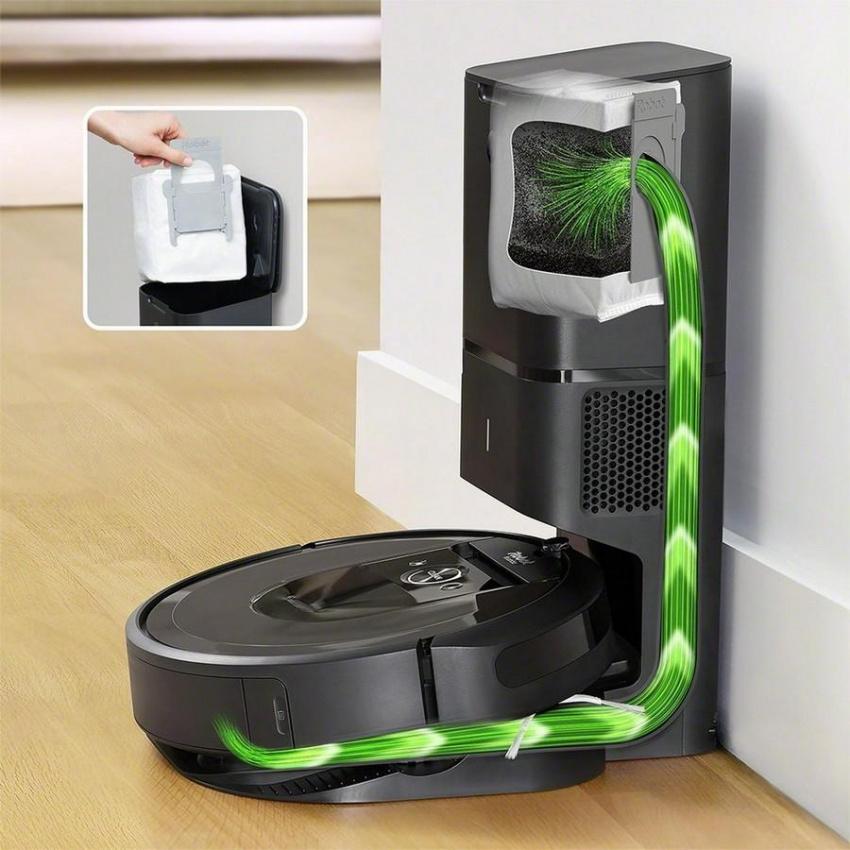 iRobot® Roomba® i7+ Wi-Fi 連接自排空機器人吸塵器— 清理你和它自己