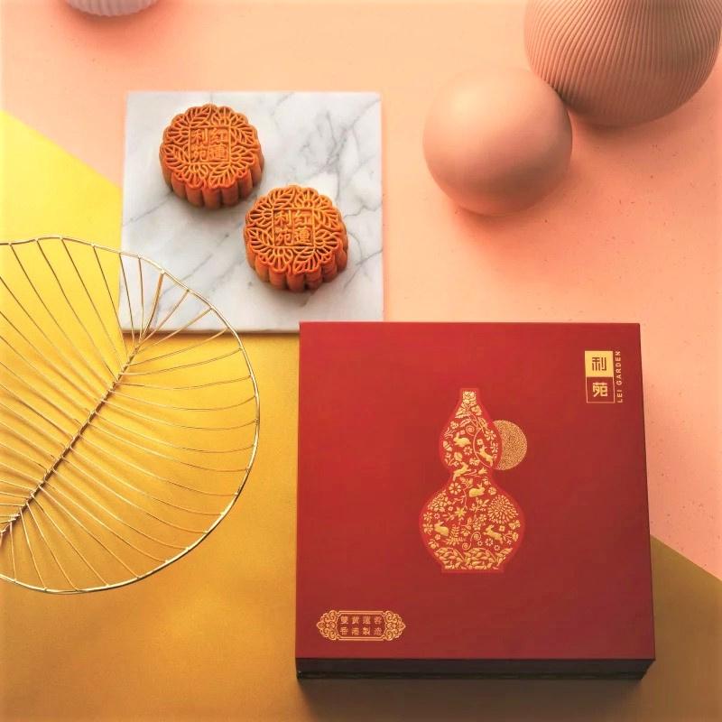 利苑雙黃蓮蓉月餅券 (4件裝)