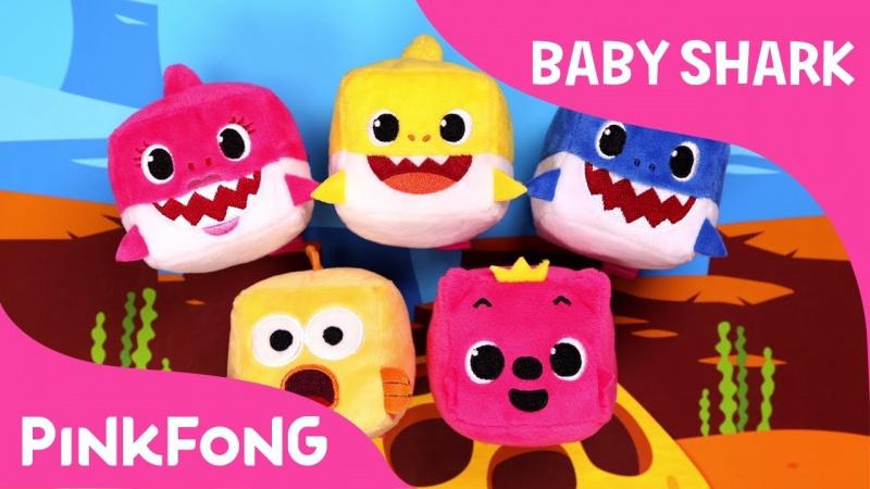 Pinkfong Baby Shark 立方體音樂毛公仔[一套4款]