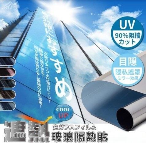抗UV 防曬隔熱玻璃貼
