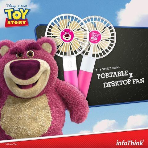 Toys Story系列行動/桌上兩用風扇 [5款]