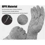 HPPE Material 強化耐磨防切割手套