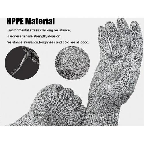 HPPE Material 強化耐磨防切割手套 [2對]