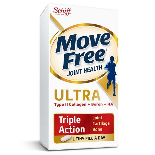 美國 Schiff Move Free 益節三重加強版 關節迷你丸 [75粒]