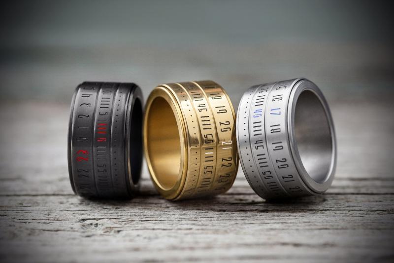 匈牙利 RingClock 時鐘戒指 [3款]