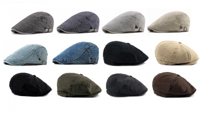 Berets 英倫畫家帽 / 貝雷帽 [12款]