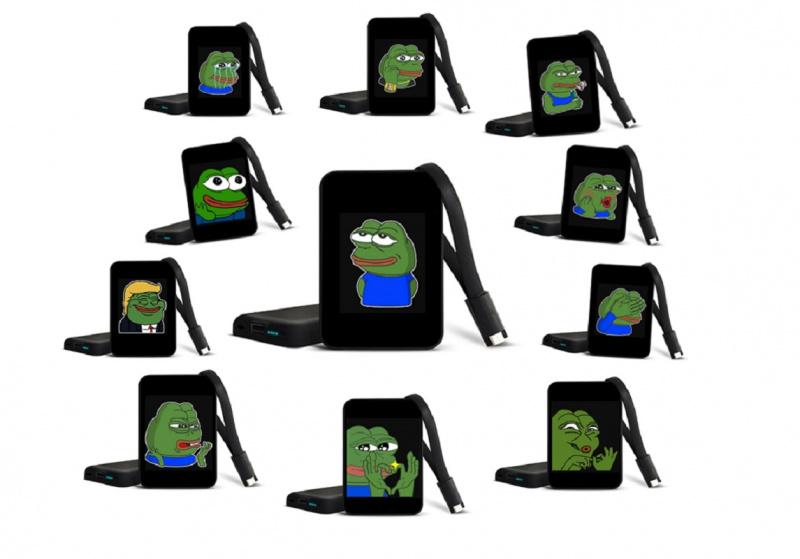 Pepe the Frog PowerBank 10000mAh 定制行動電源 [USB輸出版] [多款]