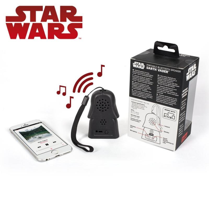 Star Wars Darth Vader 黑武士可攜式藍牙播放器