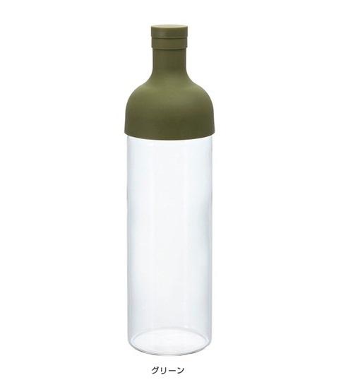 HARIO 日本製 酒瓶冷泡茶壺 750ml [2色]