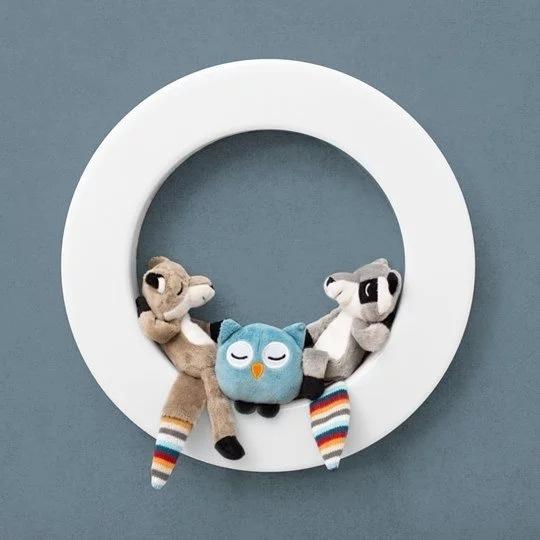 荷蘭 ZAZU Wall light 智能感應燈 (連3個磁性軟玩具)