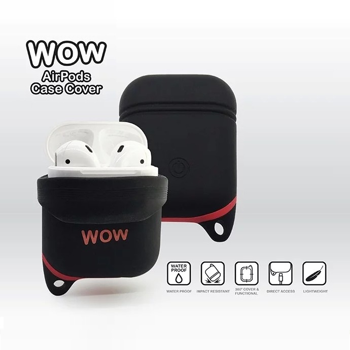WoW AirPods 充電盒保護殼 [3色]