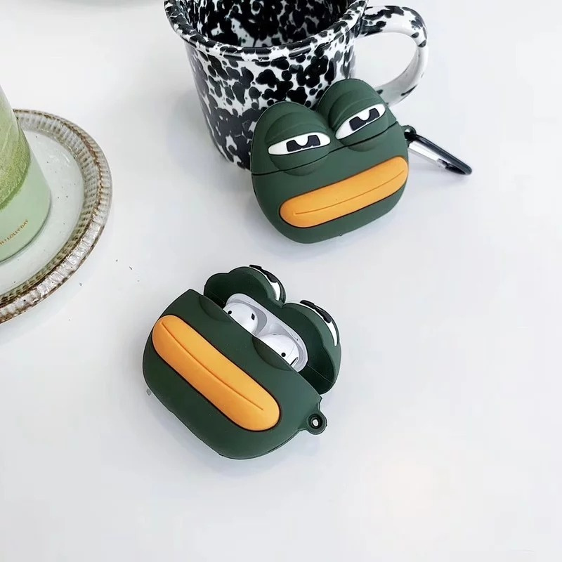 Pepe The Frog Airpods 保護套
