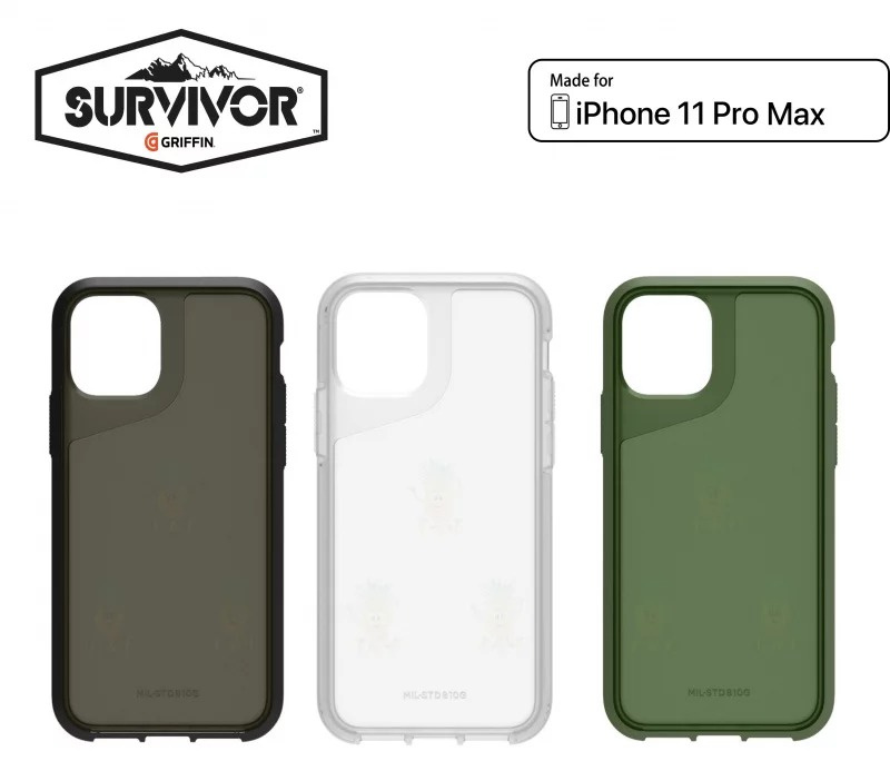 Griffin Survivor Strong for iPhone 保護套 [3款] [3尺寸]