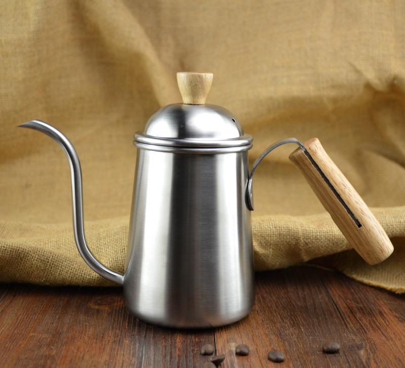手沖不銹鋼細嘴咖啡壺