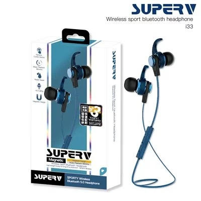 SuperV i33 藍牙入耳式耳機 [3色]