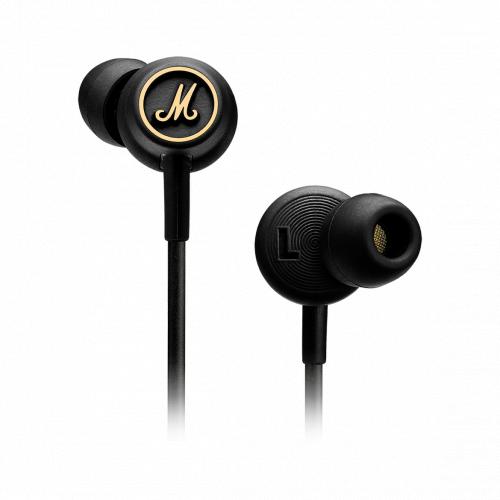 Marshall MODE EQ 耳道式耳機 [黑金色]