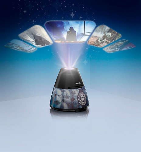 Philips x Disney Star Wars LED 2合1投影夜燈