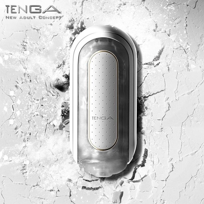 TENGA Flip 0 Zero 白色飛機杯 電動版