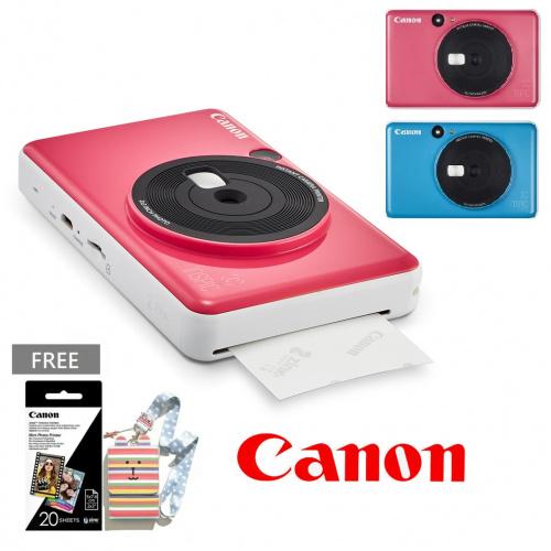 Canon iNSPiC (C) 即影即印相機(CV-123A)[3色] [送相片20張及相機袋]