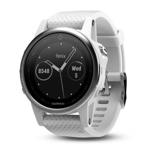 Garmin Fenix 5S Carrara White 智能手錶 [中文版]