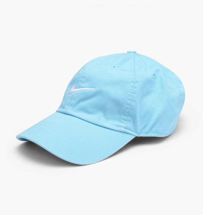 Nike Swoosh Cap 男女裝鴨舌帽 [粉藍色]