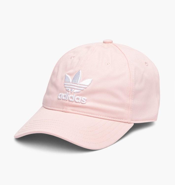Adidas Trefoil Cap 男女裝帽 [粉紅色]